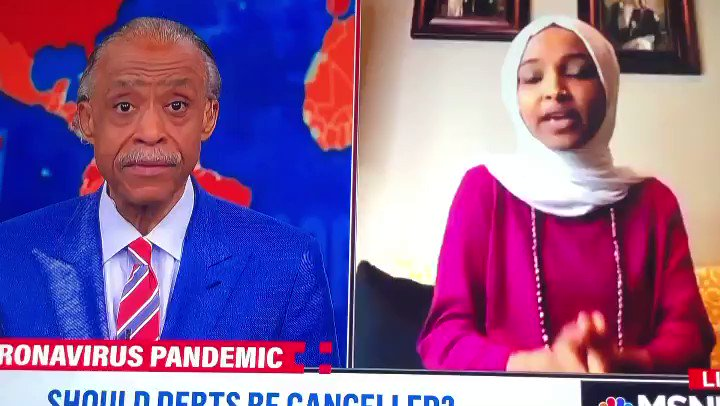 Discussing the HEROES act and the fight to cancel student debt w/ @IlhanMN on #PoliticsNation.