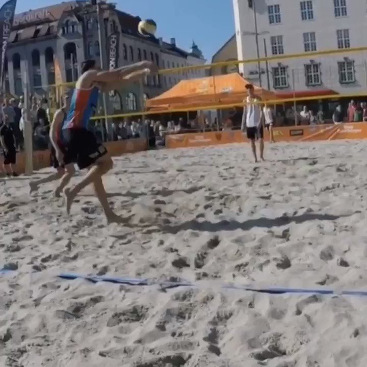 JUST TOO GOOD    @beachvolleyvik1   #BeachVolleyball pic.twitter.com/dxB1rZVQ2p