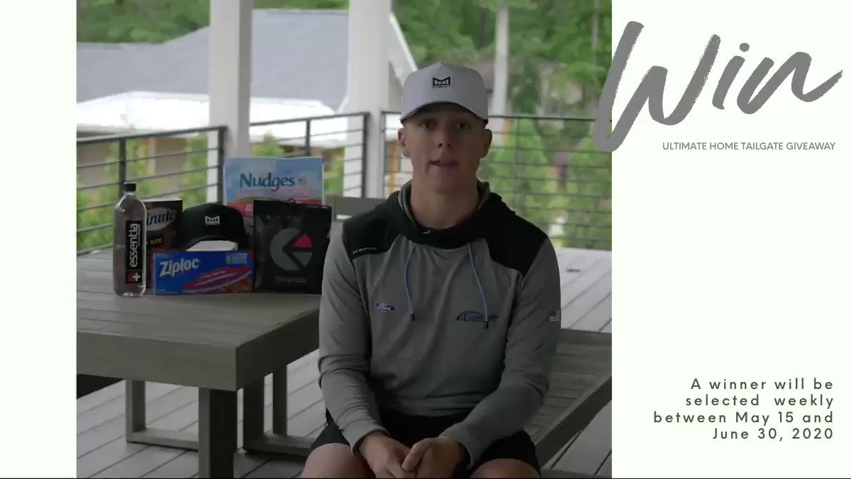 .@MelinBrand, @ethika and @Shipt have partnered, together, for an incredible way to give back to my fans. Host a @nascar viewing party with a homegate-a tailgate at home.   Visit:   #NASCARIsBack | #NASCAR
