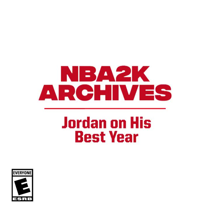From the 2K14 archives 👀 We sat down with the GOAT to get some answers  What was Jordan's best year in the league? 🤔 https://t.co/hT4EbKt0Bb