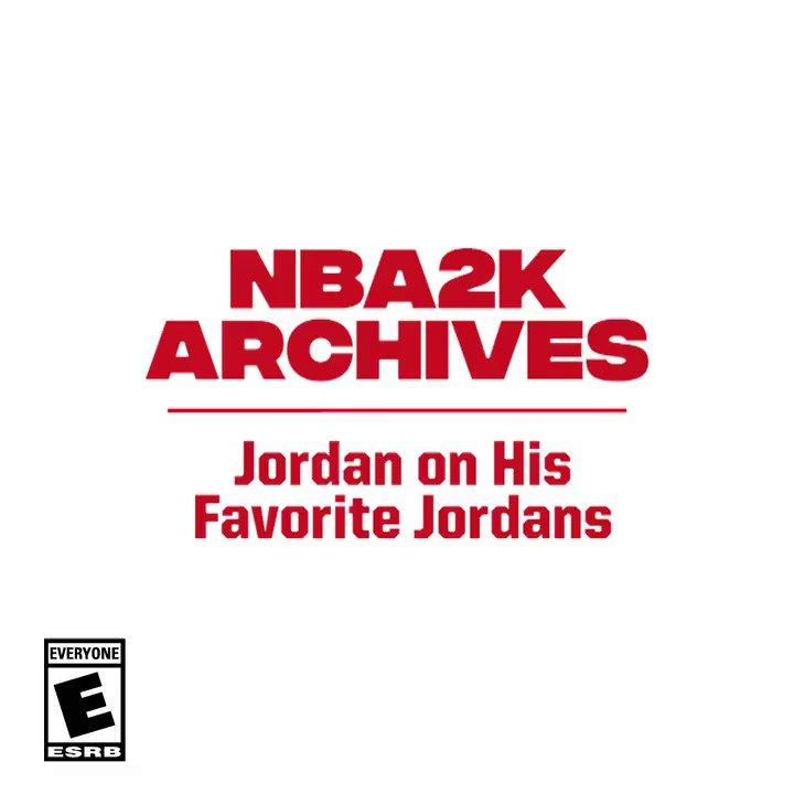 Jordan's favorite Jordans? 👟 https://t.co/5f1NnRLaGG