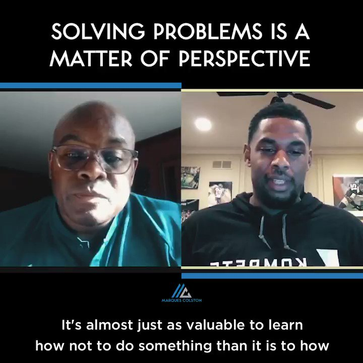 How do you solve complex problems? Leslie and I like to change the way we look at them first.