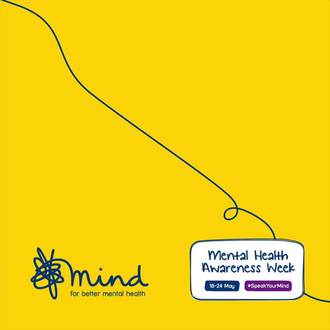 Image for the Tweet beginning: For #MentalHealthAwarenessWeek, starting today, it's