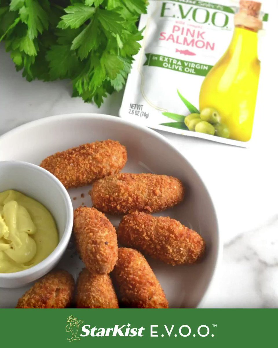 Image for the Tweet beginning: Salmon Croquettes via @DelishDLites =