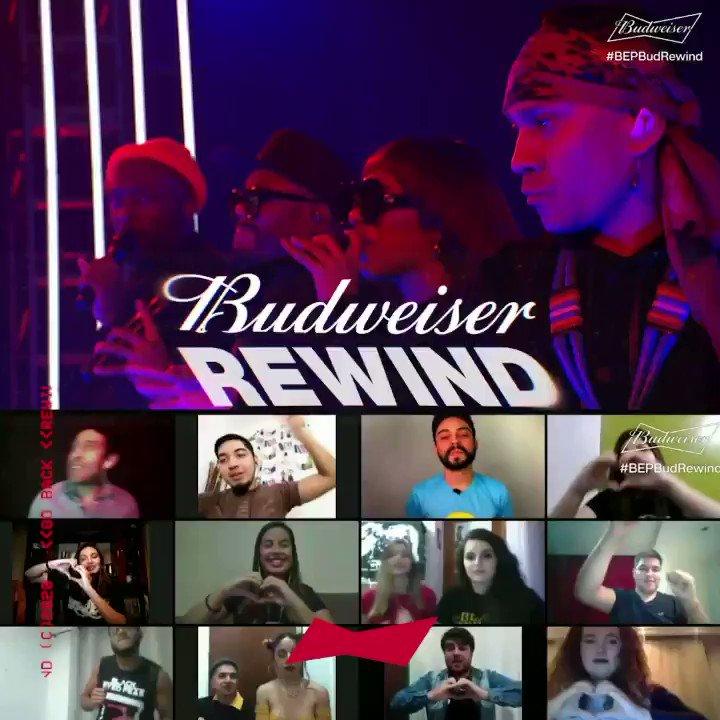 Décadas en la música y sus canciones nunca nos dieron tanta Energía. 🤯 Revive los mejores momentos de los @bep en el primer Budweiser Rewind.  https://t.co/Kuq9olmCUf #BUDXREWIND #BEPBudRewind https://t.co/f8qJe9zoR1