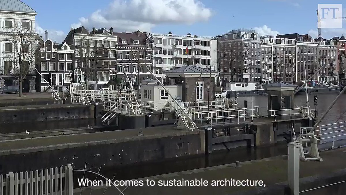 The Dutch are leaders in creating environmentally friendly buildings: from repurposed structures to floating neighbourhoods. The @FTs Helen Barrett explores 3 different approaches to #sustainability. Watch here.