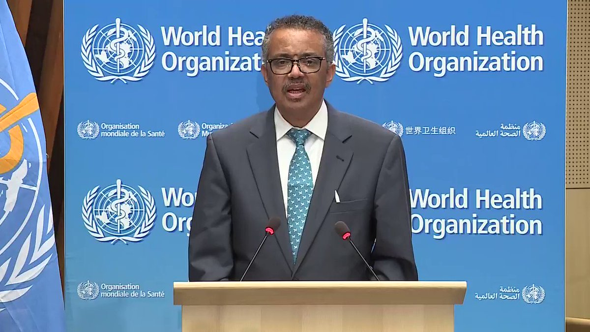 """ICN President @AnnetteMKennedy on @WHO @DrTedros' #WHA73 opening speech: """"Sadly, 2020 the Year of the Nurse & Midwife has turned out to be anything but a celebration, but has revealed to a grateful public the vital role of #nurses everywhere."""" bit.ly/3cLyEYt #Nurses2020"""