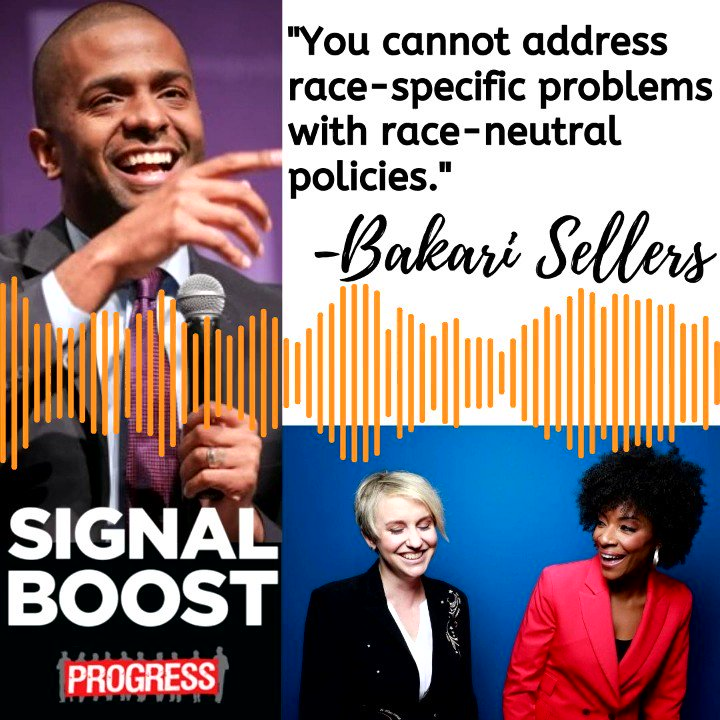 Guest @Bakari_Sellers joined @ZerlinaMaxwell & @jess_mc the day of his book release & talked about the Black Southern experience and its political manifestations as referenced in #MyVanishingCountry 📕BOOK: amazon.com/My-Vanishing-C… 📻FULL CHAT: siriusxm.us/SigBoost
