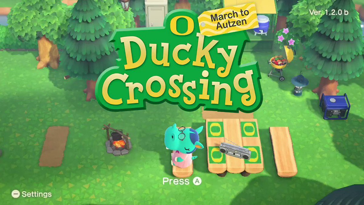 DUCKY CROSSING: MARCH TO AUTZEN  #GoDucks x #ACNH https://t.co/D59HJ6PHCA