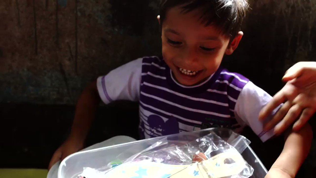Pure joy! These are the reactions your shoebox gifts bring to children around the world.