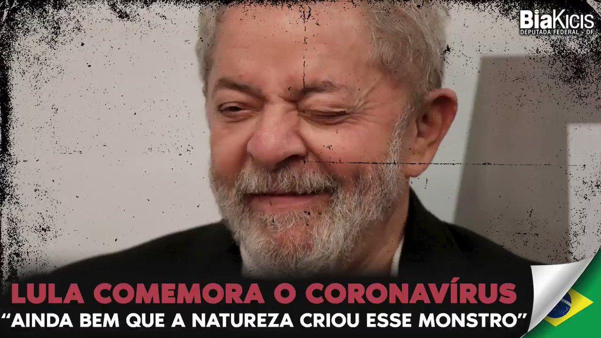 Esse parasita do Lula comemora a pandemia que matou milhares de brasileiros, uma vez que está colocando as pessoas de joelhos perante o Estado brasileiro.