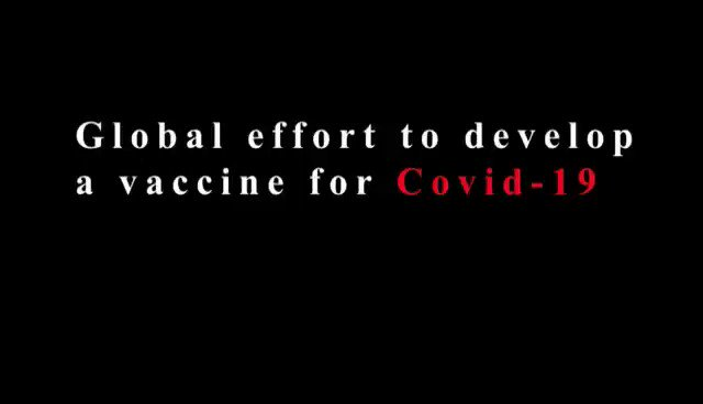 #Listentotheexperts Prof Helen Rees tells us about the global collective effort towards a vaccine & treatment for Covid-19.