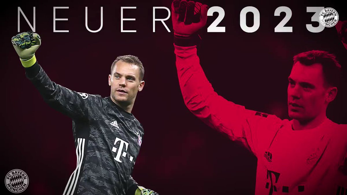 📝 DEAL DONE: Manuel Neuer has extended his contract at Bayern Munich until 2023. (Source: @FCBayernEN)