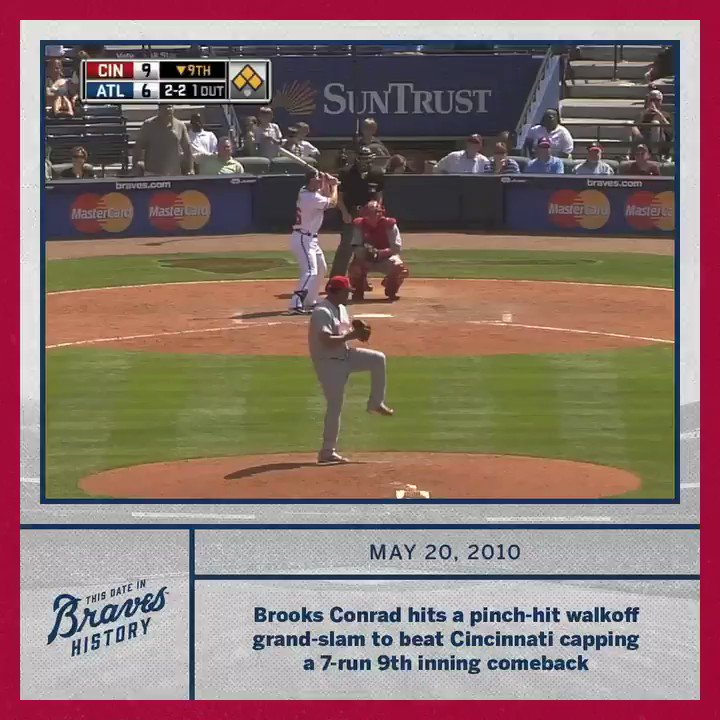 This Day In Braves History... Brooks completed the comeback!