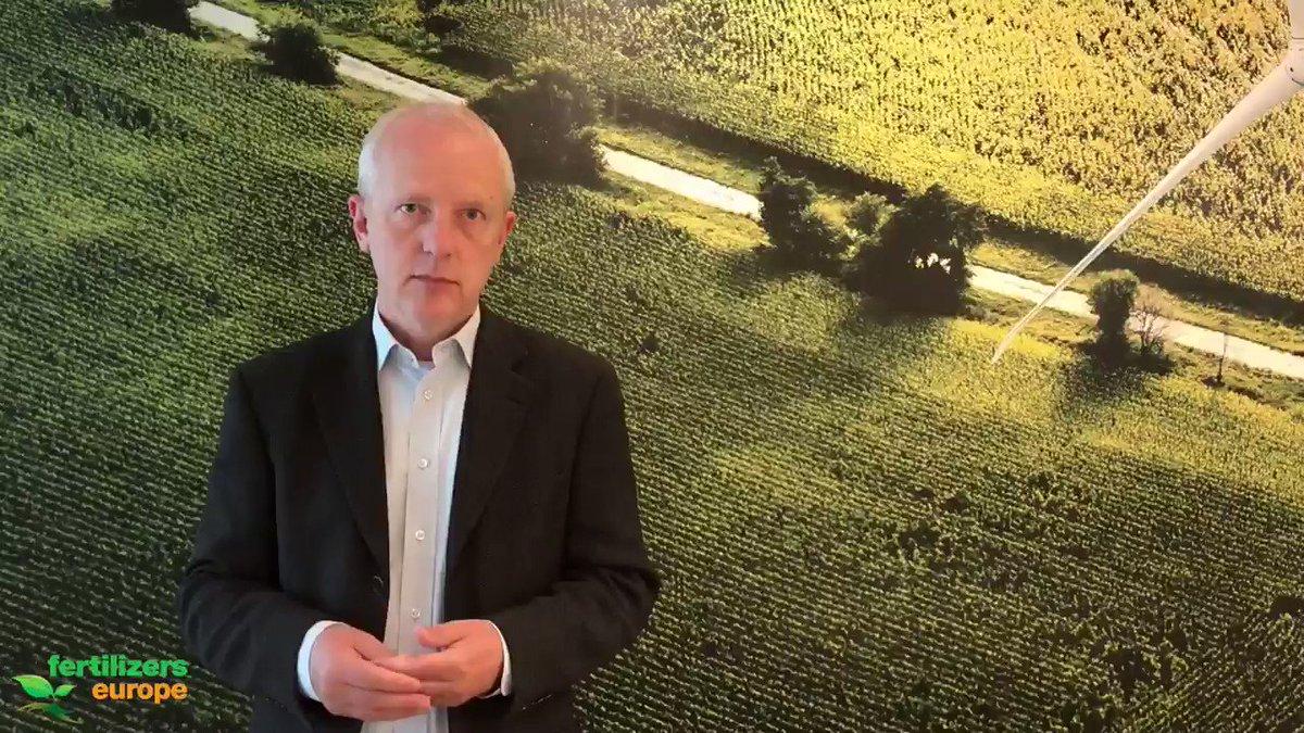 Image for the Tweet beginning: Fertilizers Europe Director General, @JacobHansenBxl,
