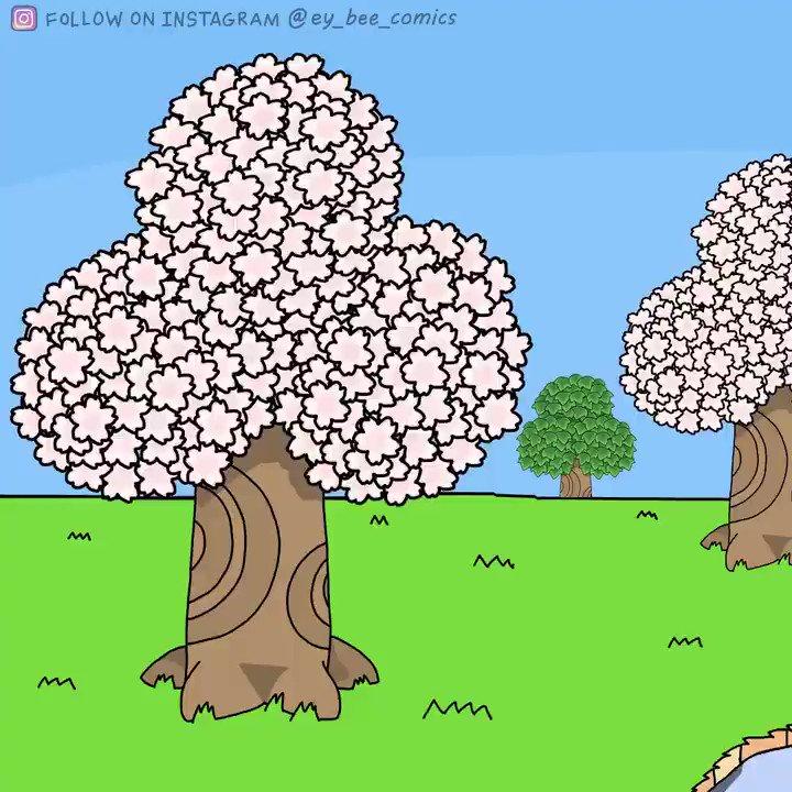 Remember catching Cherry Blossoms? #AnimalCrossingNewHorizons #cherryblossom pic.twitter.com/DTWmyUt4lK