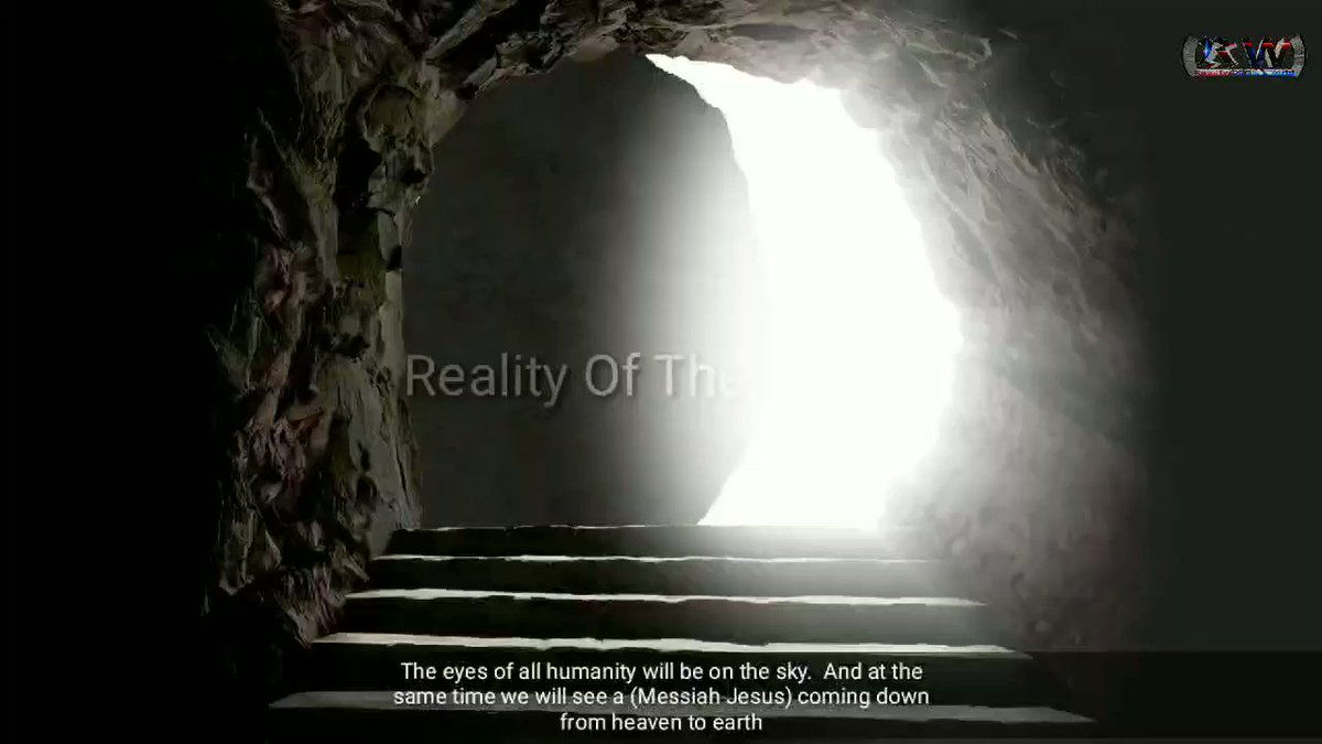 We will Consider Him as Jesus and Stay with Him Maybe He is the Antichrist?  #dajjal #holographic   Full video : https://youtu.be/zdTN5ZPkXiI pic.twitter.com/dtNk07572x