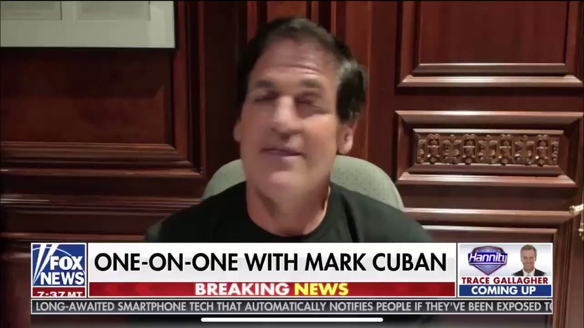 Mark Cuban SLAMS Trump on playing victim: The dems are out to get me. The media is out to get me... He's supposed to be the world's best counter puncher and he hasn't knocked anybody out. He just plays the VICTIM. Are MASKS out to get Trump too?