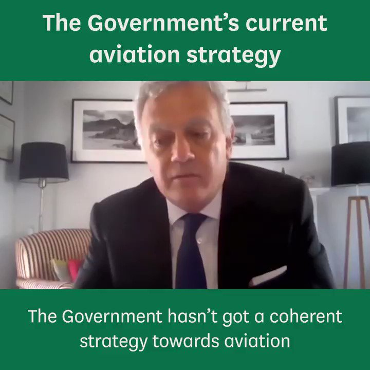 🗓️Yesterday we held our third session on the impact of coronavirus on aviation ✈️Watch below Jason Holt, Chief Executive of @swissport give his view on the Governments current aviation strategy 📺Watch the full session again here: parliamentlive.tv/Event/Index/ed…