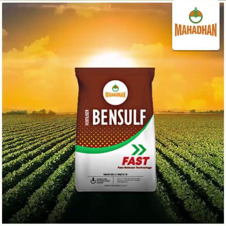 Change is good! Keeping this in mind, we are upgrading our product Bensulf Fast to Bensulf Superfast.   #DFPCL #Mahadhan #MahadhanBensulfSuperfast #YehAlagHai #Sulphur #farming #Fertiliser #agriculturelife https://t.co/aMxkY8FUE4