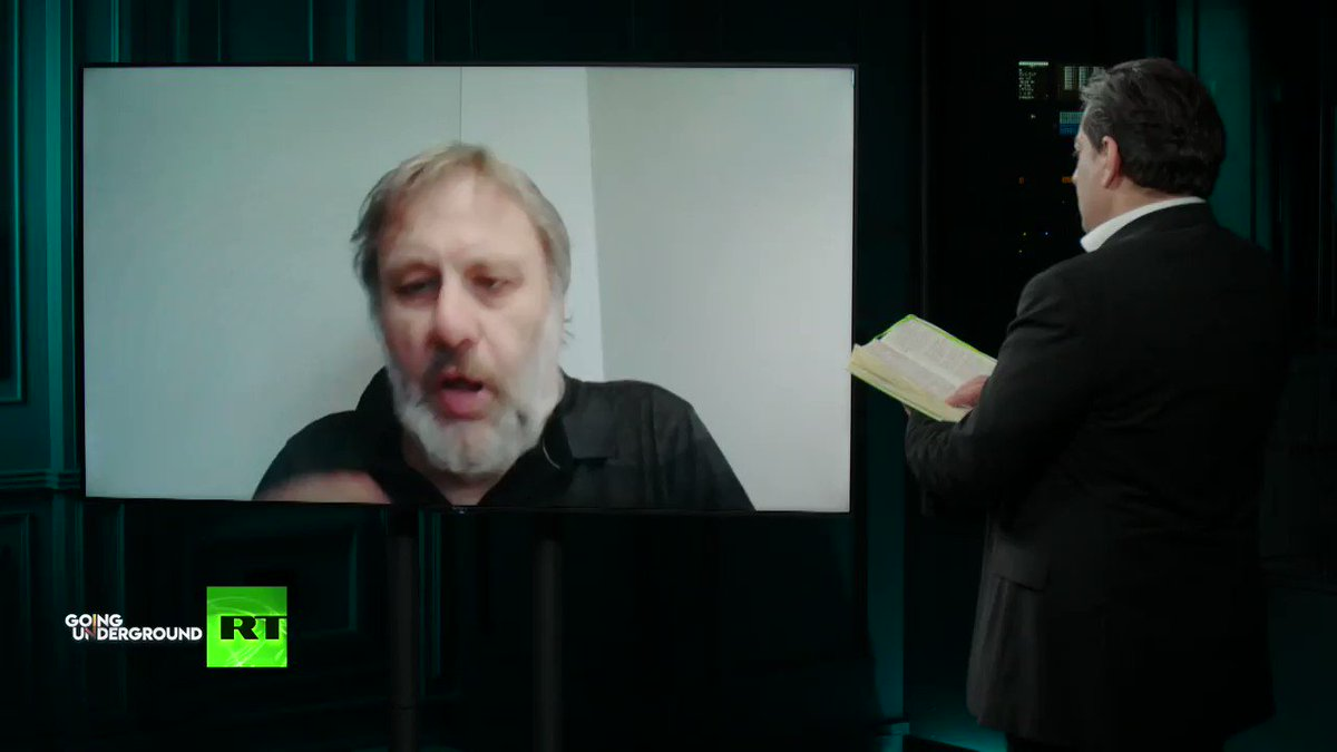 Another possibility is...some states will pursue the opening, in other states racist fundamentalists groups will take over...its quite possible that we will regress to a new barbarism -Slavoj Zizek on the world after #Coronavirus WATCH: youtu.be/XyiXYDw9P70