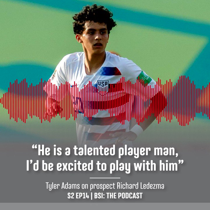 S2 Ep14 | @tyler_adams14 on prospect @richydezma   #bsithepodcast #usmnt #usynt #ussoccer #mls #future #soccer #futbol #psv pic.twitter.com/PXPmi5hHeQ