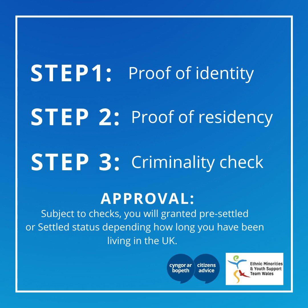 EU Settlement Scheme reminder ❤️ Apply in 3 steps: gov.uk/settled-status…