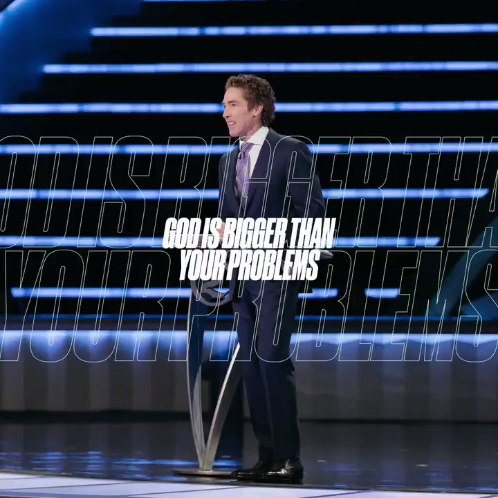 The bigger you make God, the smaller your problems become and the more faith will rise in your heart. Dont miss this powerful message, Ready to Rise from Joel! YouTube.com/JoelOsteen