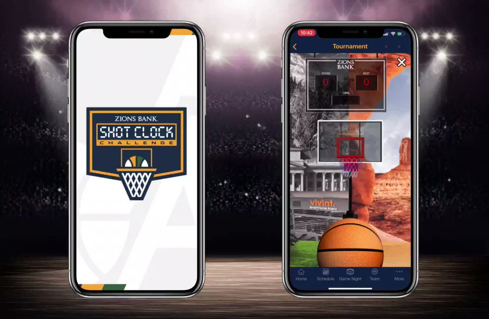 The @NBA season may be on hold, but a new season tipped off this week for 16 teams competing in the #ShotClockChallenge!  To play, just download the official app of your fav team & get ready to shoot against fans from other teams in head-to-head matchups. GM3 starts Friday! 🏀📱 https://t.co/Dhx7ZvYxoo