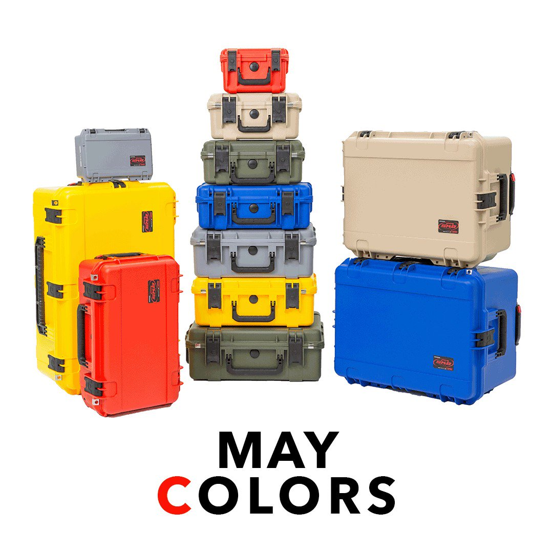 Did you know SKB iSeries cases can be found in colors other than black? Contact your local dealer for more info on how to get your hands on one. #skbcases #cases #geargoals #outdoors #overlanding #techbox #gear