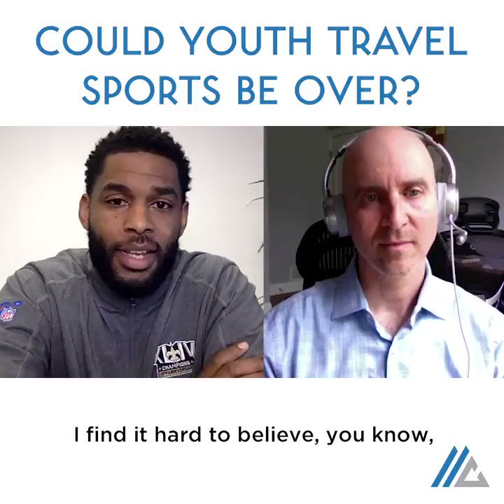 Could youth travel sports be over? @isport360 & I chatted about this recently. Im answering your questions too - hit the link in my bio, lets talk about your business.