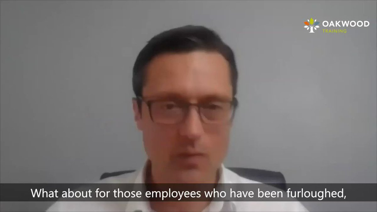 Can employees who have been #furloughed be asked to do online training by their employer? Yes! We spoke with Fiona Powell, a specialist employment lawyer from @freeths who explains why... Watch Fionas video in full here - oakwoodtraining.co.uk/looking-after-… #FurloughScheme #training