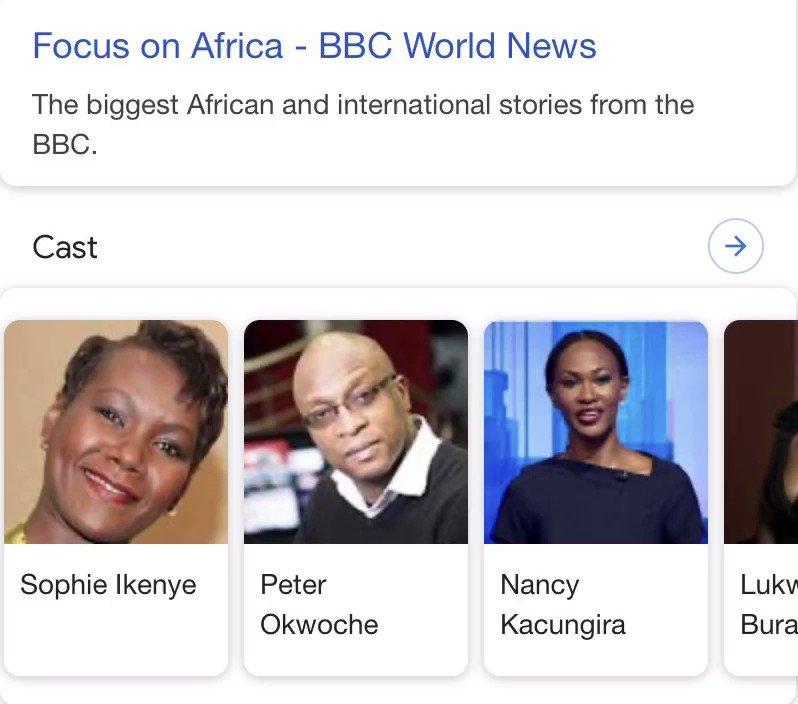 Meet the cast 😅 @sikenye @okwoche @kacungira @LukwesaBurak @lebo_diseko @BBCAfrica