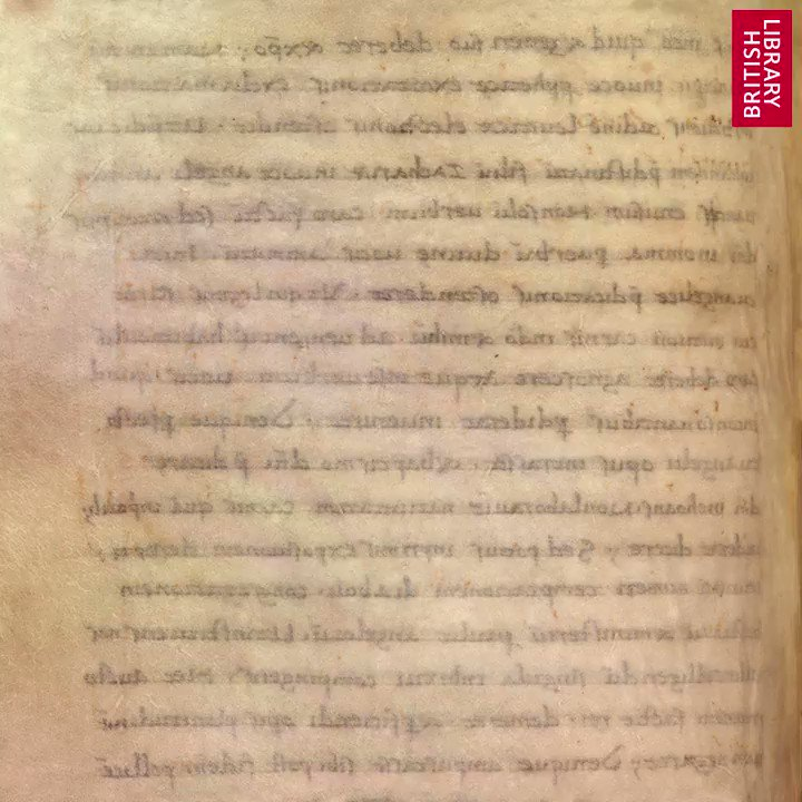 Our final #BLAngloSaxons item this week for #MuseumFromHome...  Amazing revelations. Discover how multispectral imaging made it possible to read the Bodmin Gospels. One page that appears mostly blank to the naked eye revealed five manumission records: