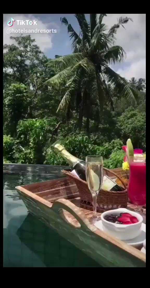 WE ARE SHAPPED BY OUR THOUGHTS. WE BECOME WHAT WE THINK. WHEN THE MIND IS PURE, JOY FOLLOS LIKE A SHADOW THAT NEVER LEAVES.  @hotelsandresort #TikTok #bali #Ubud #Indonesia #breakfast #floatingbreakfast #infinitypool #travellersplanet #travel #tiktoktravel #sub Good morning. pic.twitter.com/qwuCrh8c9e