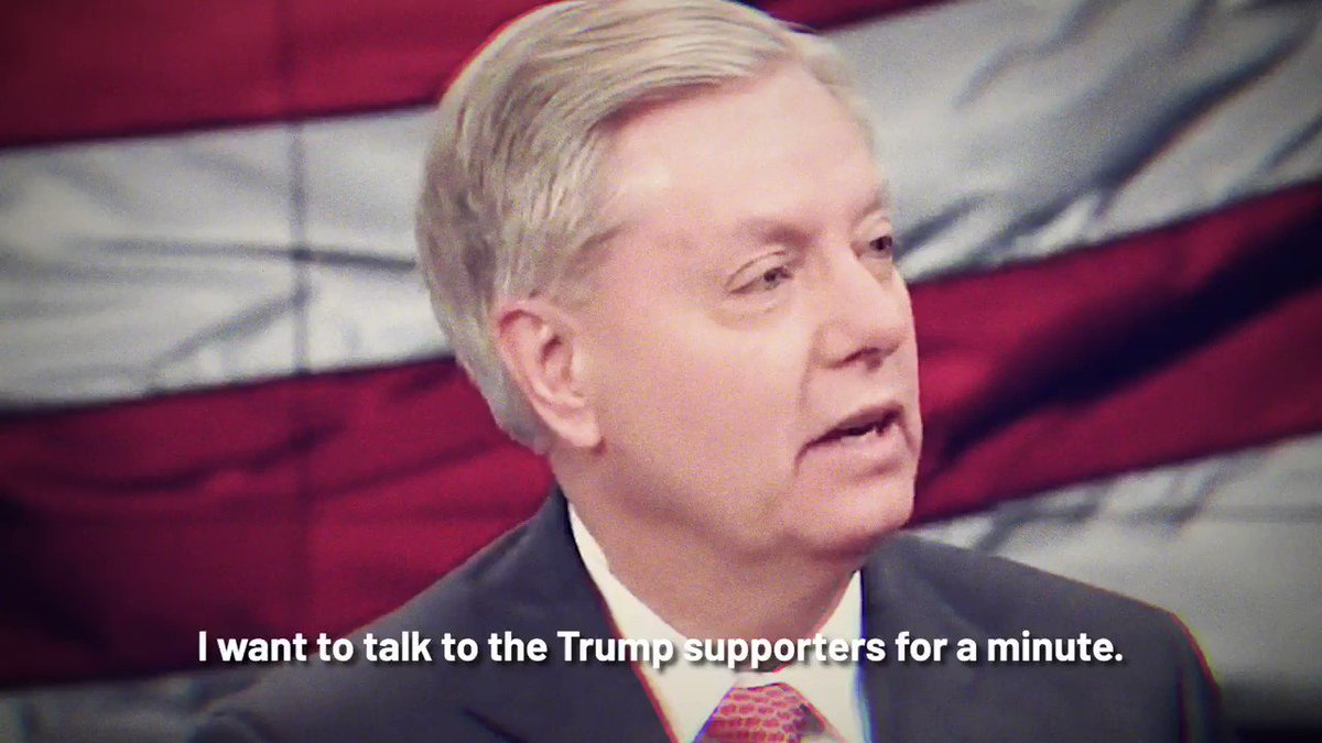 Please retweet to humiliate Lindsey Graham