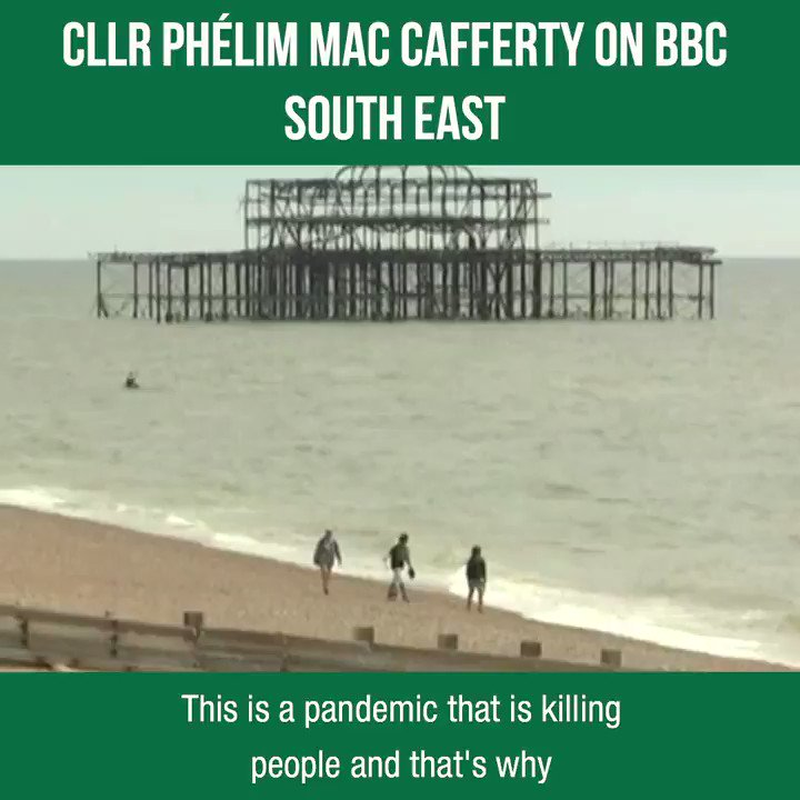 Last weekend, Cllr @Phelimmac was on BBC South East sharing this message - please do not gather in #Brighton and #Hove. For more on this from us, you can also read the story in @bjournal1 below 👇 brightonjournal.co.uk/a-perfect-stor…