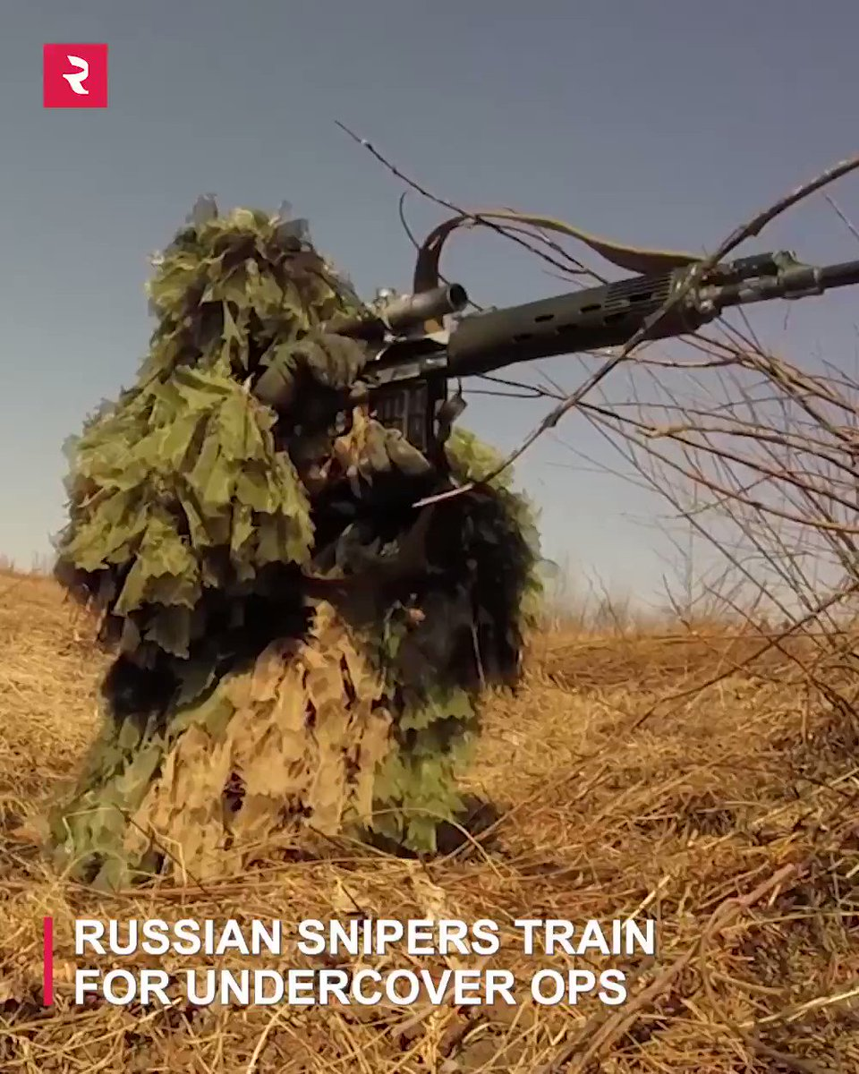 Check out #Russian snipers train for undercover ops: pic.twitter.com/AfWOZG6t3g