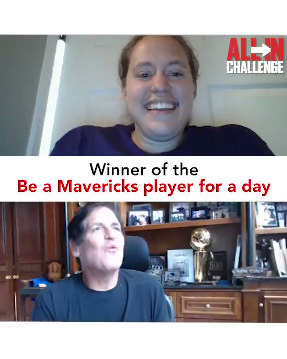 We have a winner for the @allinchallenge ! And i had a blast presenting the prize !!!