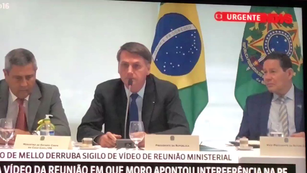 "And there it is: ""I'm not going to wait for them to fuck my whole family or my friends just for shits and giggles,"" said Brazil's president Jair Bolsonaropic.twitter.com/OymQnwniGe"