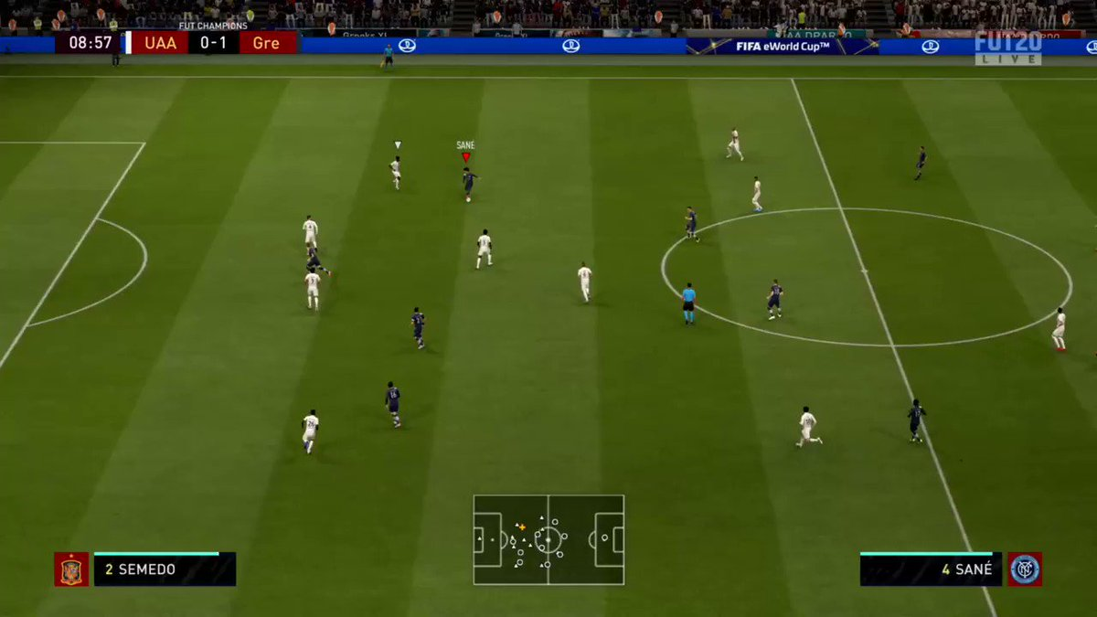 My team is really feeling class tonight. Unsurprisingly just made this guy rage quit with this! Absolute limbs! #Griezmann pic.twitter.com/HX3IJLAqTd