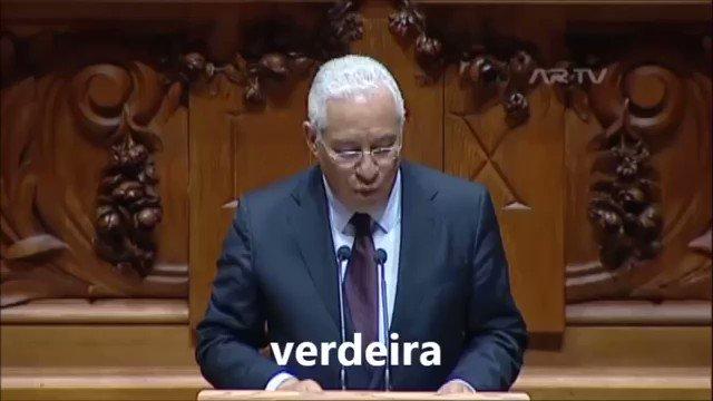 O António Costa parece o Jorge Jesus a falar...