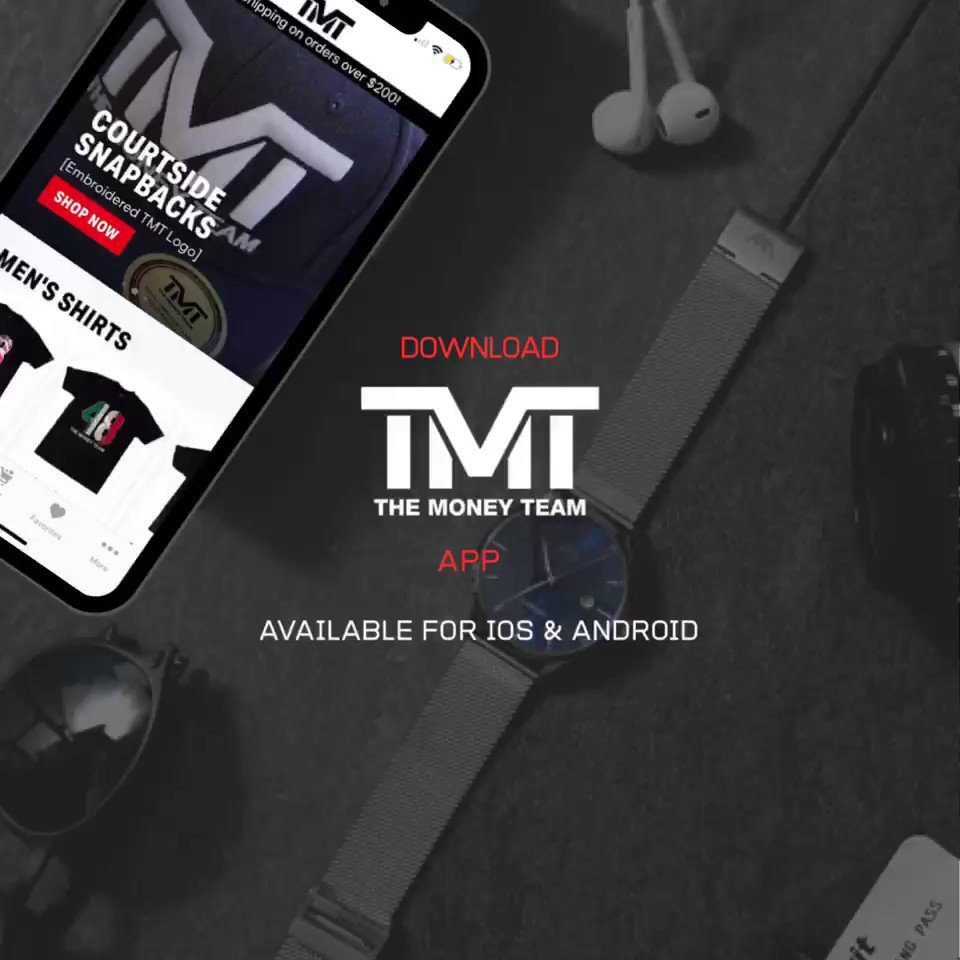 Thank you to everyone who has supported @TheMoneyTeam; its more than a brand; its a lifestyle. Become a part of the family by downloading The Money Team app today to be the first to receive information on exclusive drops & offers.