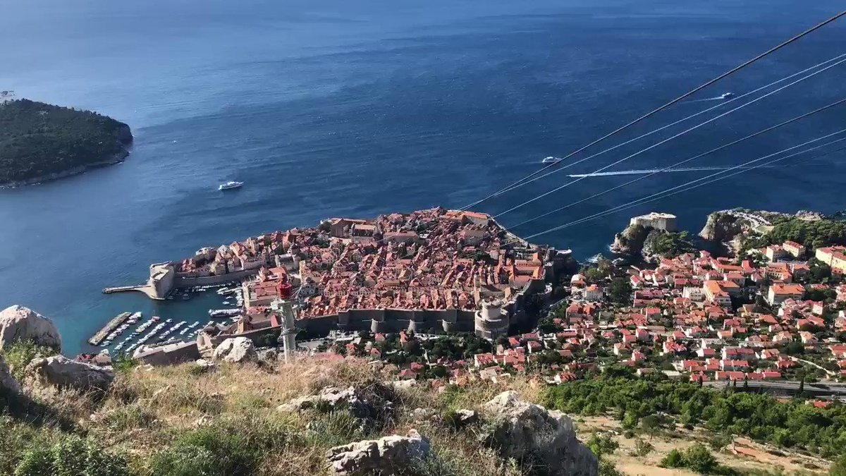 Bird's eye view: #beautiful Dubrovnik, Croatia.  #gameofthrones #unexpected #fall2019 #ocsbPhotoChallenge