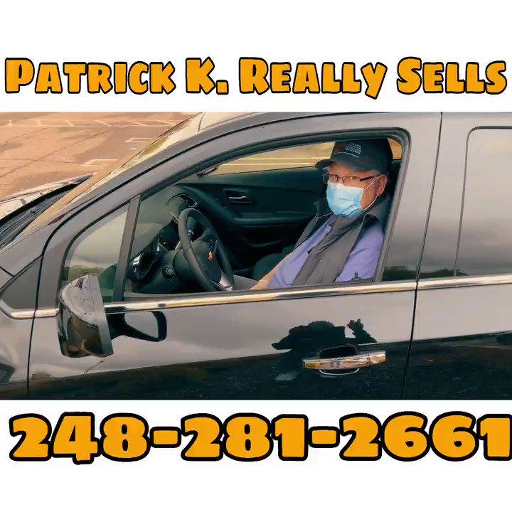 Patrick K. Really Sells #patrickk #patrickkreallysells #chevytrax #trax #serra #serrachevrolet #detroitmetrousedcars #detroitmetronewcars #chevt #chevroletpic.twitter.com/9o9hZY69on