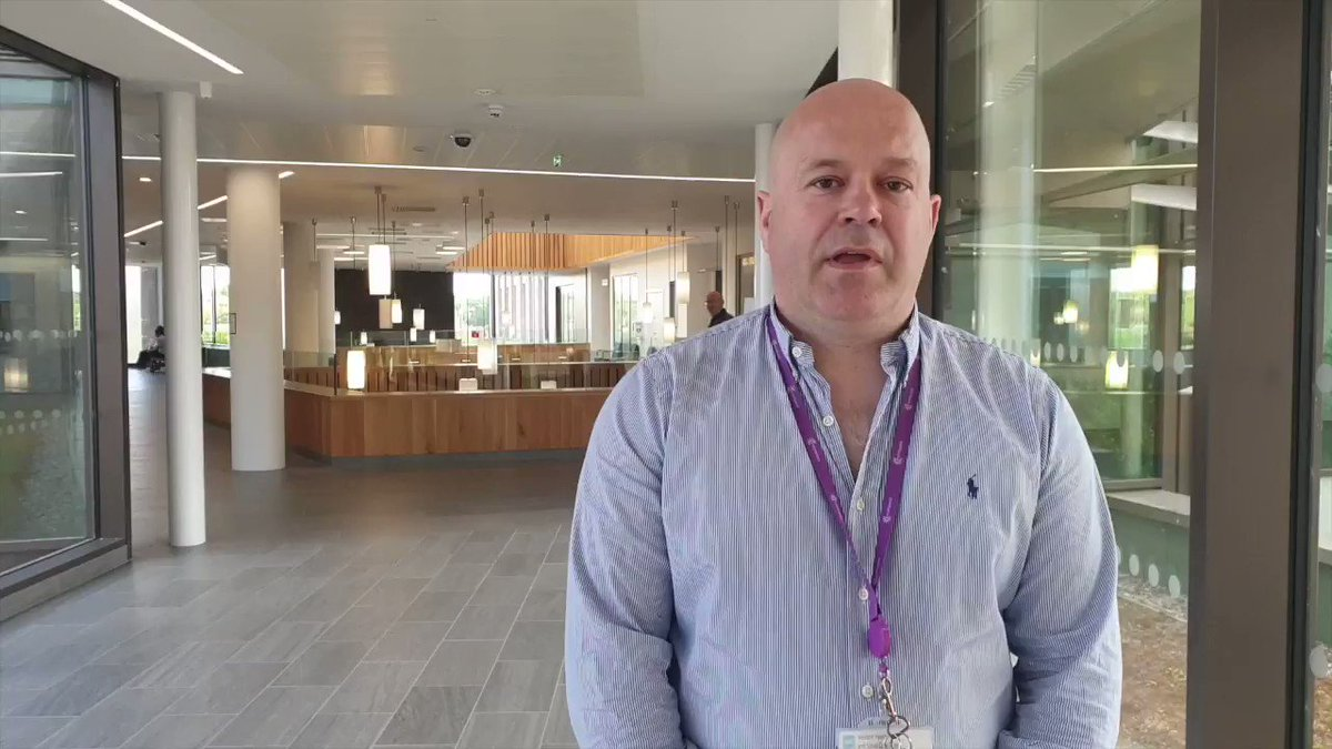 Asst Medical Director for SWAH & Omagh Hospital, Prof Ronan OHare, provides an update regarding access to Omagh Hospital and Primary Care Complex from Tues 26th May 2020. Full details: bit.ly/36nKpSG Measures have been put in place to protect staff, patients & visitors.