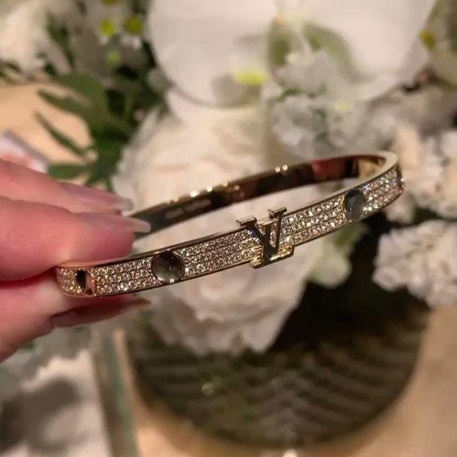 louis vuitton gold bracelet