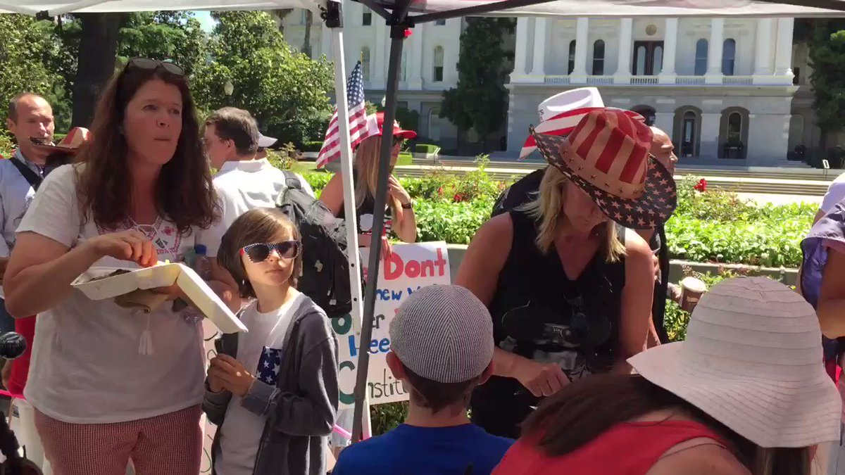 Image for the Tweet beginning: California patriots rising!