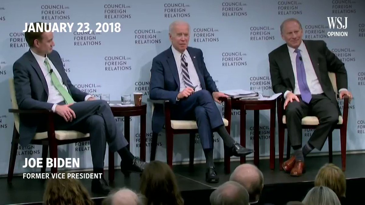 This is What #QuidProQuo with #Ukraine looks like Please retweet this video so everyone of your friends can watch it $1Billion in Aid was held so a prosecutor be fired #JoeBiden in his own words says that Ukrainians did not believe him...Call #BarackObama he said #DontForget