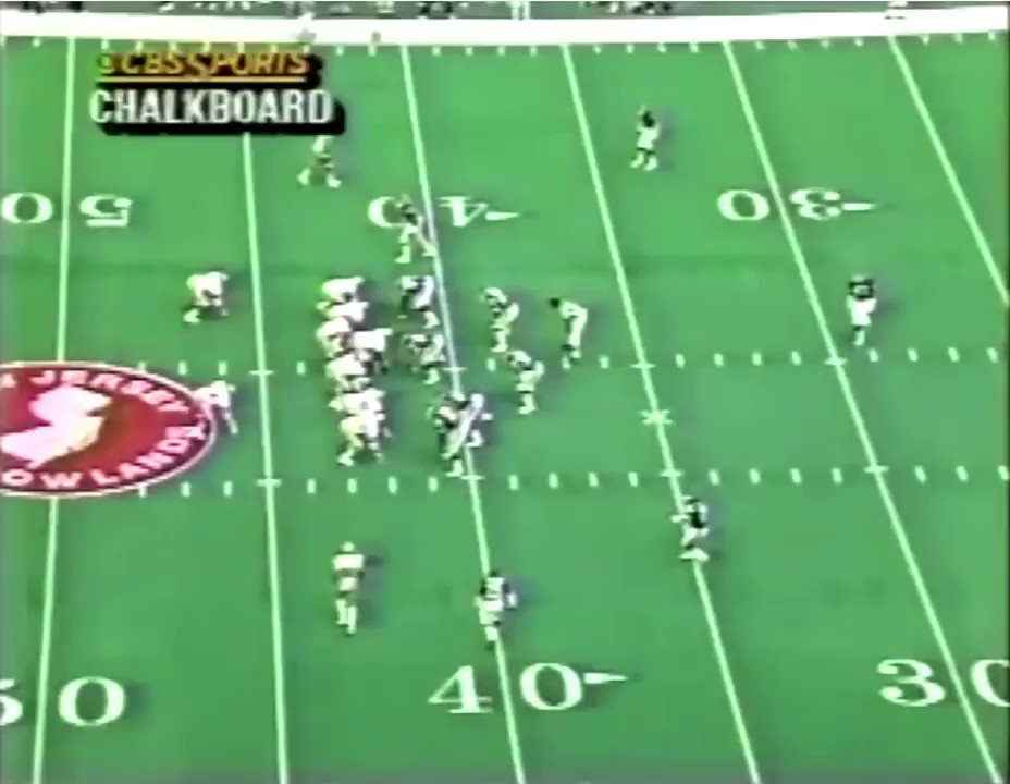 From that really cool RedZone 1988 thing: Giants show a man indicator with CB following Jerry Rice into slot and then blitz that corner and play zone behind. Ill tell you: that is an interesting thing - John Madden